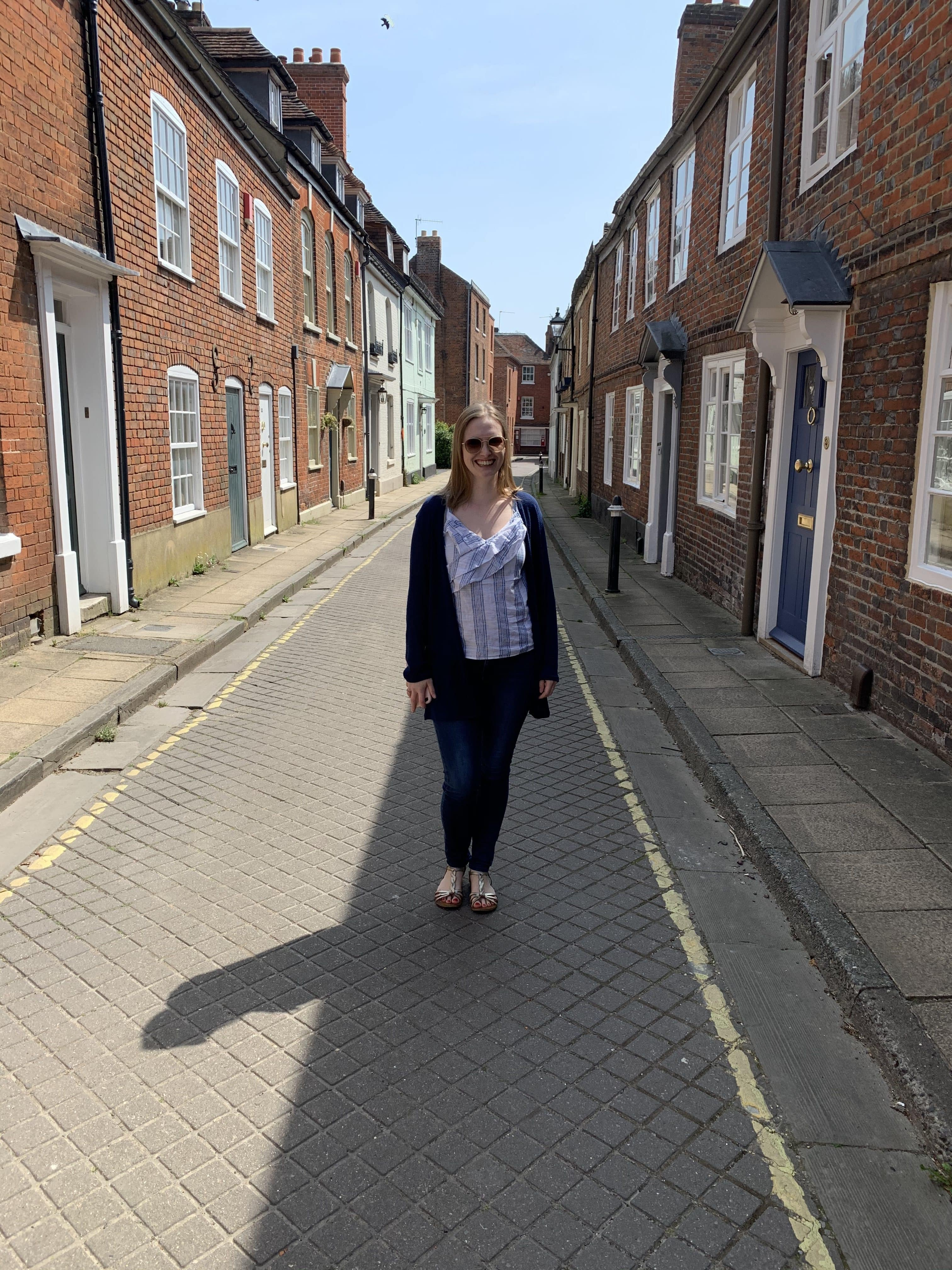 Hannah in Winchester