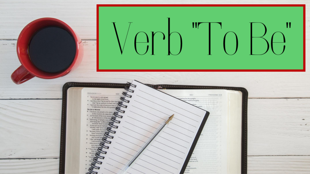 Verb To Be Course