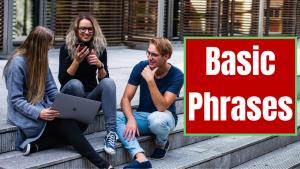 Basic Phrases Course Image