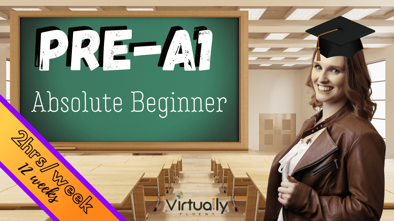 Pre-A1 Course Absolute Beginner