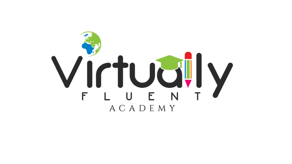 Virtually Fluent Academy Logo