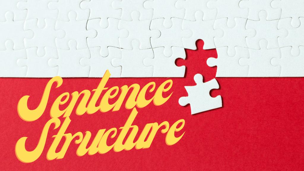 Sentence Structure Course Image