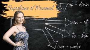 Prepositions of Movement Course Image