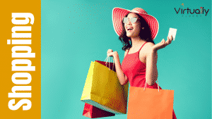 Learn how to talk about shopping in English by learning new shopping vocabulary and phrases in this online course.